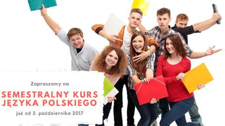Semestralny Kurs Języka Polskiego już od października 2017